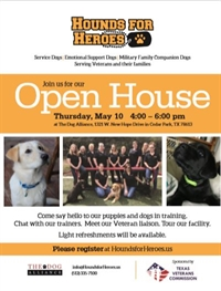 Hounds for Heroes Open House Event