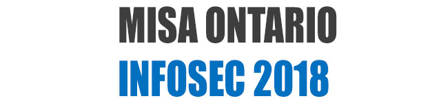 Call for Speakers - MISA Ontario InfoSec Conference 2018 - Municipal