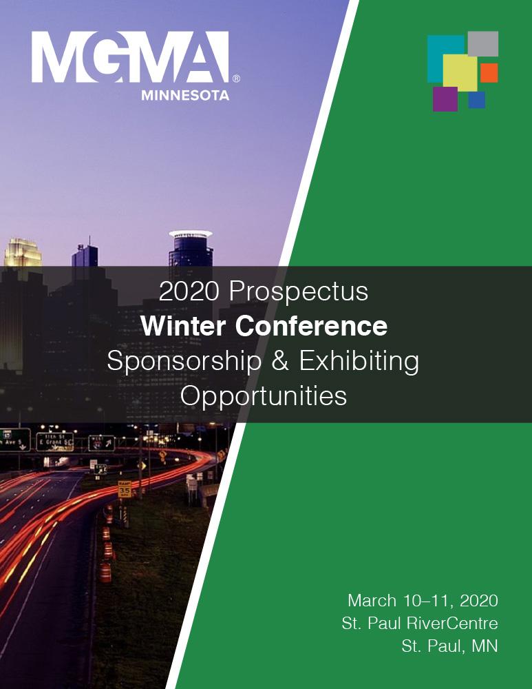 2020 Winter Conference Prospectus cover