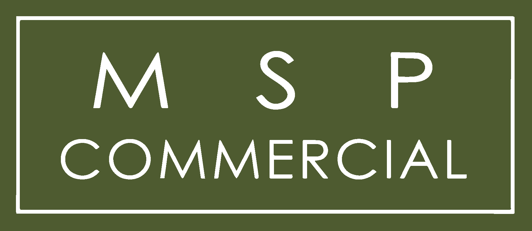 MSP Commercial logo