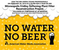Young Professionals - Minneapolis Water Plant Filter Reconstruction Tour