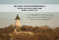 MN AWWA Young Professionals - Witch's Hat Water Tower Climb