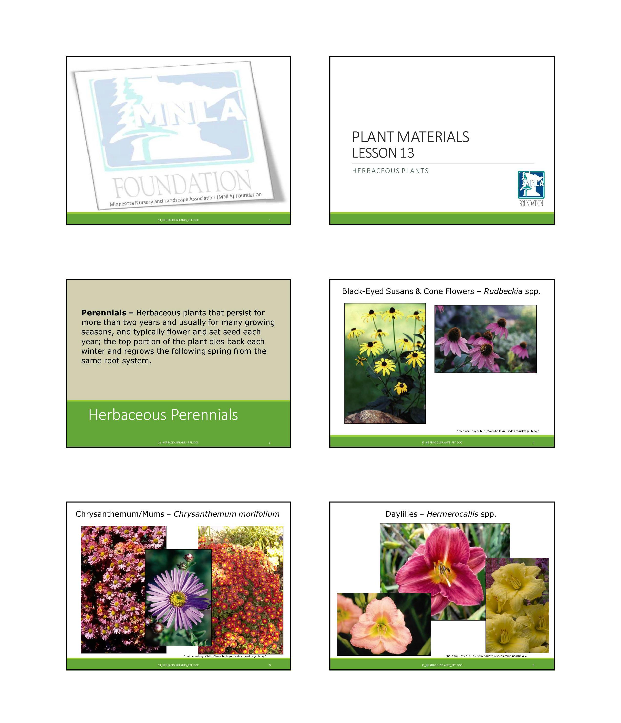 High School Horticulture Curriculum - Minnesota Nursery and