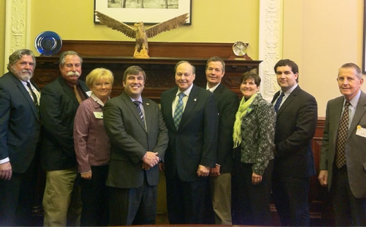 Ag leaders meet with Senator Rosenberg at MA Ag Day on the Hill 2014