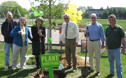 "Environmental Leadership Award ""Tree Planting"" for Representative John Fernandes"