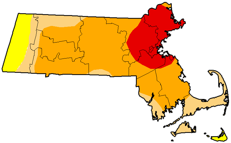 Massachusetts drought