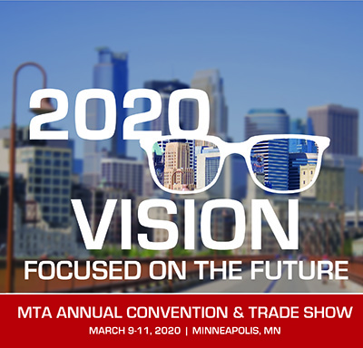 2020 MTA Convention and Trade Show logo