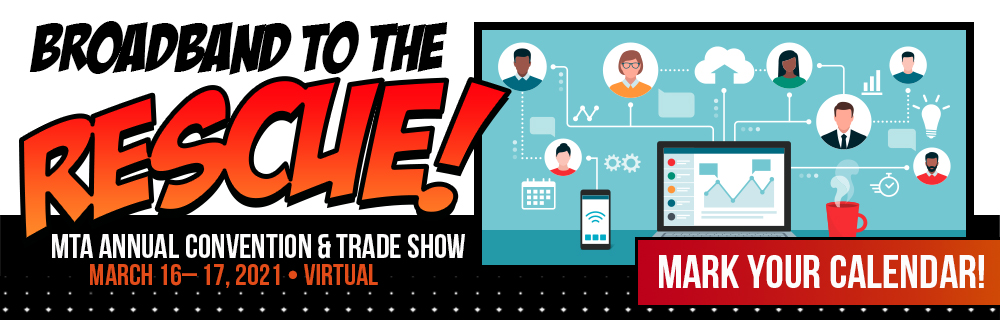 2021 MTA Convention and Trade Show save the date banner