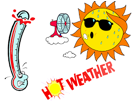 weather heat