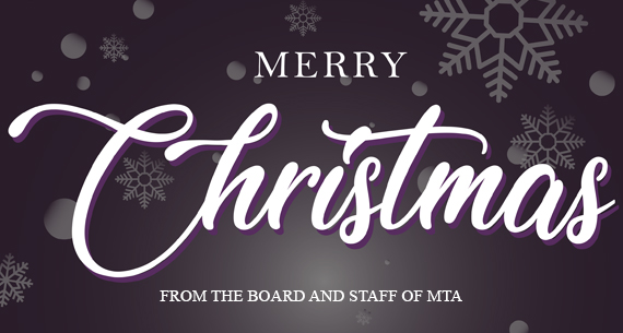 Merry Christmas from the Board and Staff of MTA