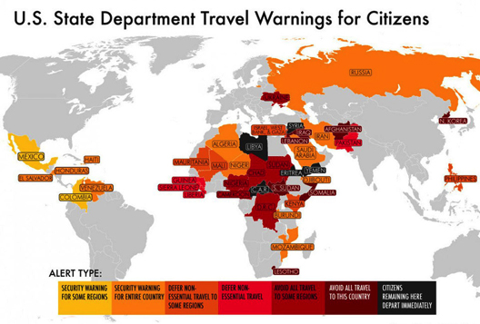 Travel Warnings for Citizens