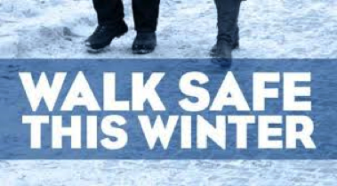 walk safe this winter