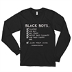 (S-3X) We Serve - Relaxed Fit Long Sleeve T-Shirt