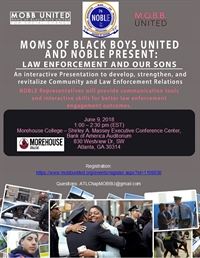Law Enforcement and Our Sons - Atlanta