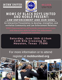 Law Enforcement and Our Sons - Houston