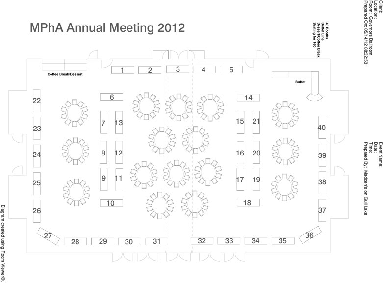 Annual Meeting Map