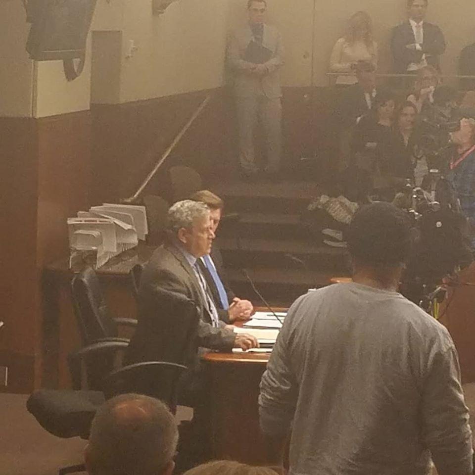 Stephen Schondelmeyer testifies at the Legislature