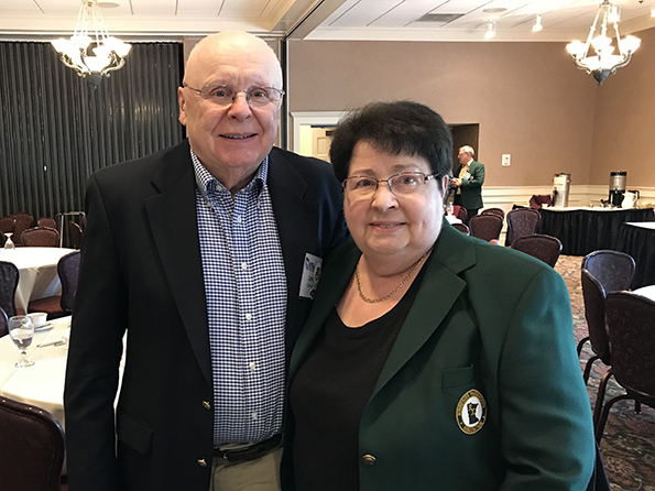 Larry and Doris Calhoun