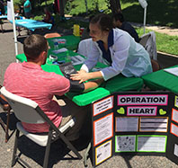 Operation Heart health education