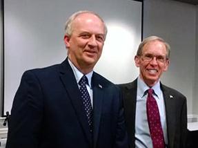 Sherwood Peterson and Edward Creagan
