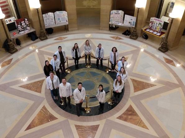 Minnesota Pharmacy Student Alliance members