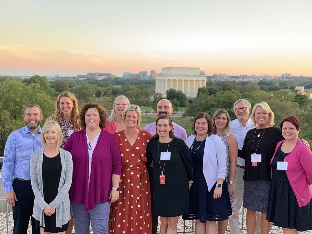 MPhA Executive Director Sarah Derr attended APhA's meeting in DC