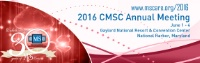 2016 Consortium of Multiple Sclerosis Centers Annual Meeting