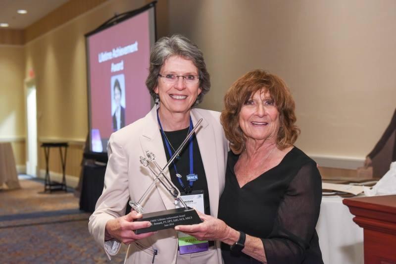 Sue Bennett and June Halper