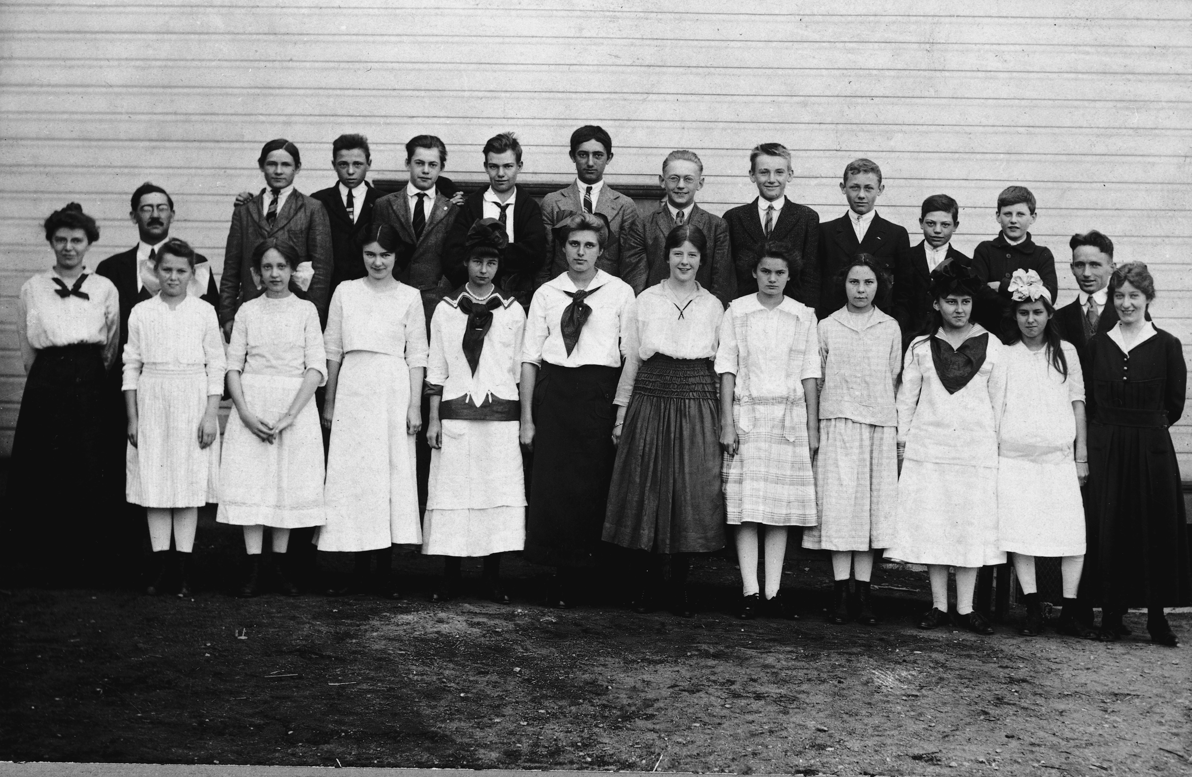 MTLSD High School Old Class Photo