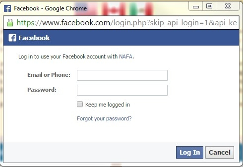 Single Sign-On - Linking to your Facebook profile ...