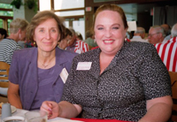 Jane Longley-Cook and Mollie Pulver, 2000 (photo from Cornell University Library)