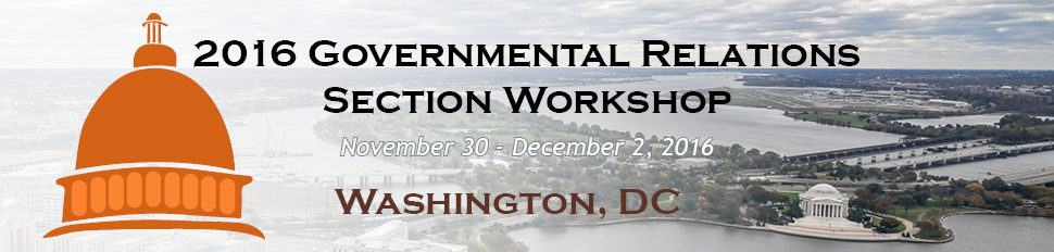2016 GR Workshop, November 30 - December 2, 2016 - Washington, DC