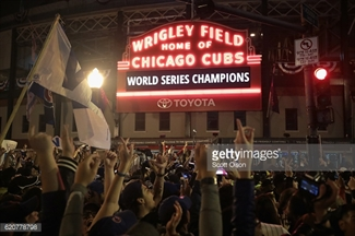Wrigley Field - Home of Chicago Cubs - World Series Champions