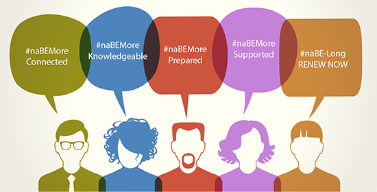 naBEMore Connected | naBEMore Knowledgeable | naBEMore Prepared | naBEMore Supported | naBE-Long RENEW NOW