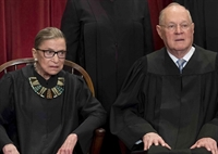 Justices Ginsburg and Kennedy