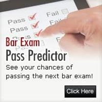 """Bar Exam Pass Predictor : See your chances of passing the next bar exam!"""