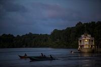 Brazil riverboat