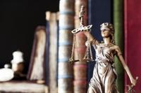 Justice figurine