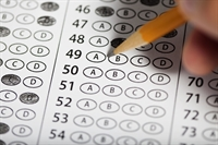 Filling in multiple choice question form