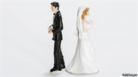 Wedding toppers back-to-back