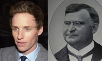 Eddie Redmayne and George Westinghouse