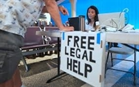 Free Legal Help table