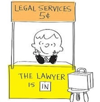Legal Services 5c - The lawyer is in