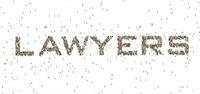 Lawyers spelled out with dots