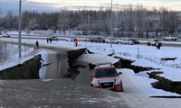 Achorage Alaska earthquake