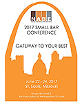 2017 Small Bar Conference program cover