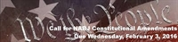Call for NABJ Constitutional Amendments Due 2/3/2016