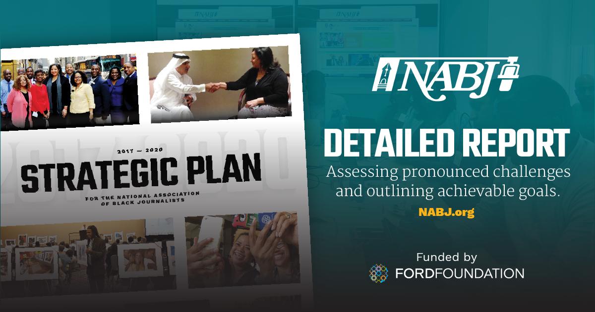 NABJ Unveils New Strategic Plan 2017-2020 - National