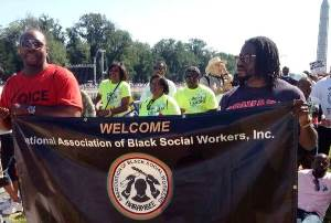 August 24, 2013, NABSW members in Washington DC to commemorate and celebrate the historic March On Washington.