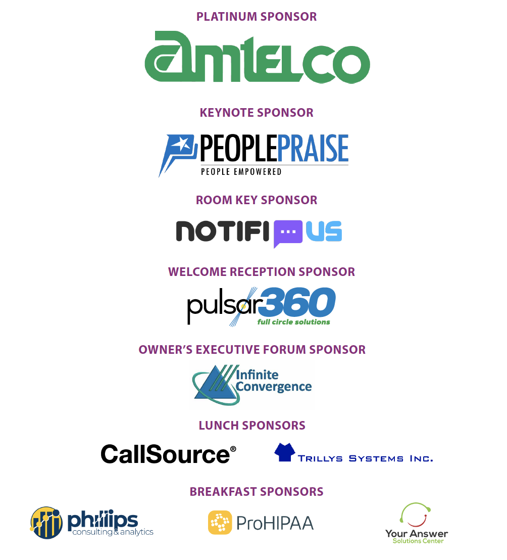 2020 Conference Sponsors